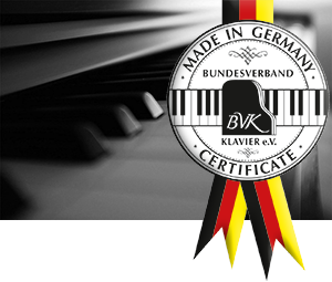 BVK CERTIFICATE 100% Made in Germany